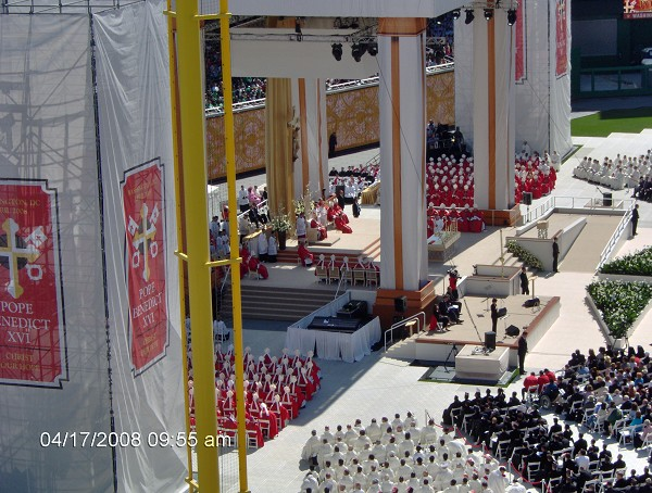 The Holy Father's Mass in Washington DC