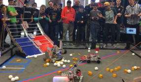Our Robotics Team wins 2nd Place at UNH Competition!