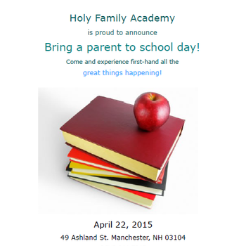 Bring a Parent to School Day