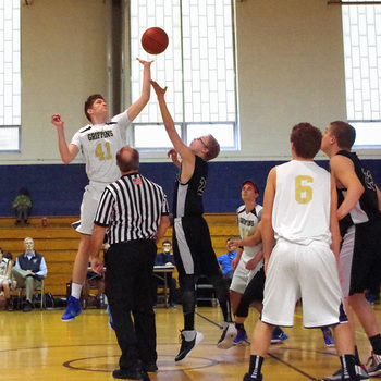 Second Win of the Season for Boy's Basketball