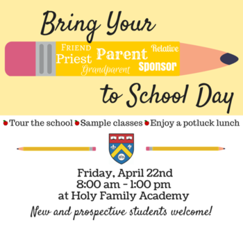 Bring a Parent to School Day!