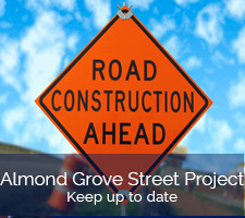 Almond Grove Street Construction Update June 26th