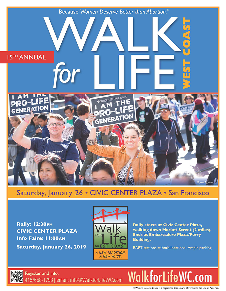 Walk for Life  January 2019