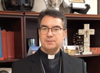 Bishop Cantú video inviting you to the upcoming Calfornia Catholic Ministry Conference (CaCMC)