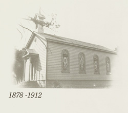 early St. Mary church in Los Gatos