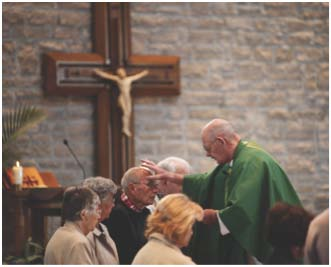 Anointing of the Sick at St. Mary's Los Gatos