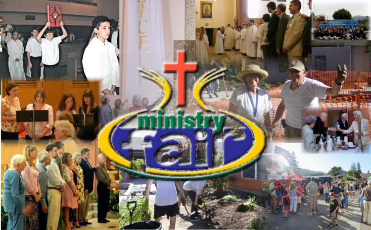 Ministry Fair at St. Mary's