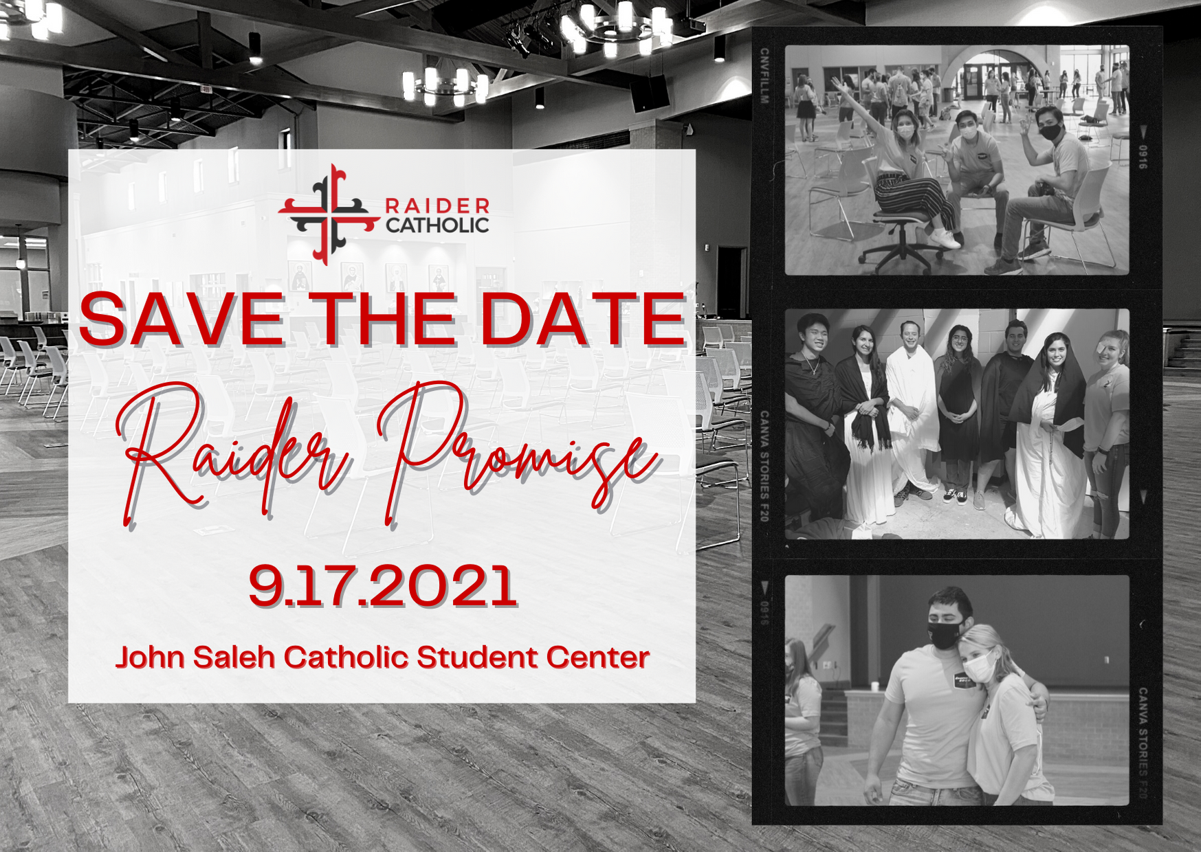 Raider Promise 2021 Save the Date