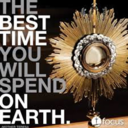 St. Mary Youth Ministry will host a weekly Holy Hour of Adoration