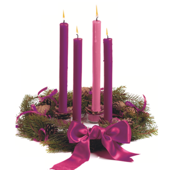 Start the season off with Advent Wreath Workshop & Prayer Service