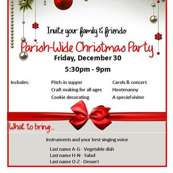 Parish -Wide Christmas Party