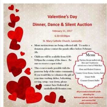 Valentine's Day Dinner, Dance & Silent Auction