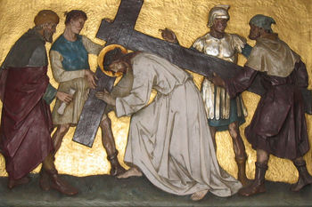 Follow the steps of Jesus' passion and death during Stations of the Cross