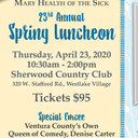 Save the Date! 23rd Annual Spring Luncheon