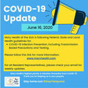 COVID-19 Facility and Resident Update June 16