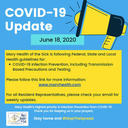 COVID-19 Facility and Resident Update June 18