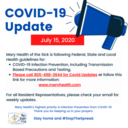 COVID-19 Facility and Resident Update July 15