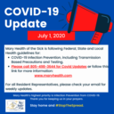 COVID-19 Facility and Resident Update July 1