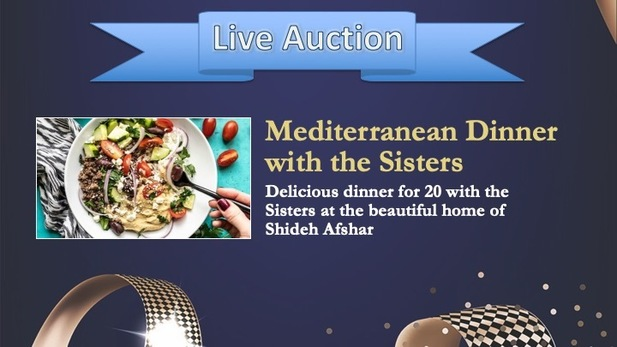 Live Auctions with the Sisters Mary Health 2019 Gala