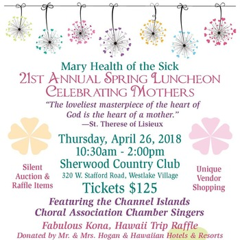 Join Us To Celebrate Mothers! 21st Annual Spring Luncheon