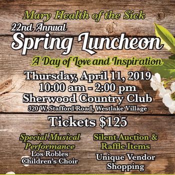 22nd Annual Spring Luncheon / A Day Of Love And Inspiration