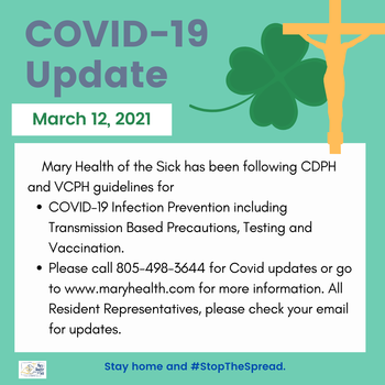COVID-19 Facility and Resident Update
