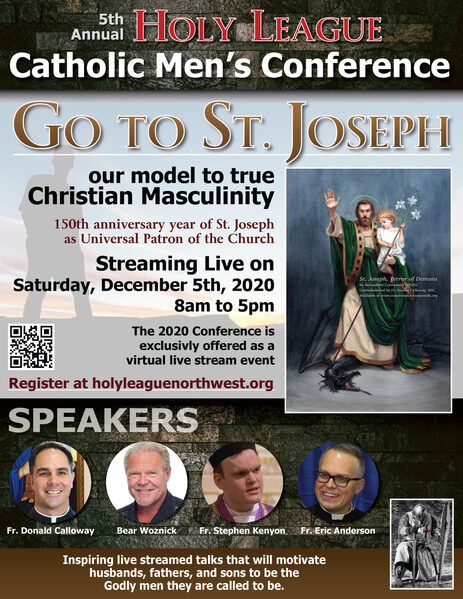 5th Annual Holy League Catholic Men's Conference