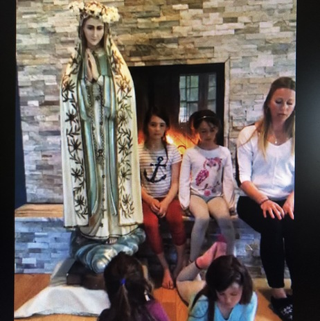 Join us for the Rosary every Friday in May with the Meir family!