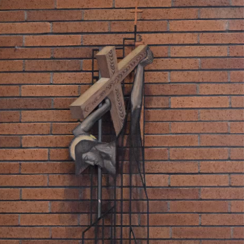 Stations of the Cross at Holy Cross Church