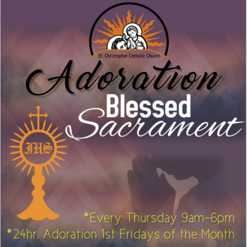 Adoration of the Blessed Sacrament | Rosary
