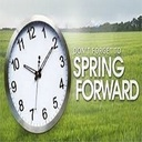 Don't forget to set your clocks ahead.