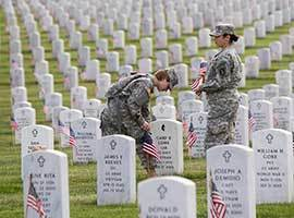 Prayer for Memorial Day (Last Monday in May)