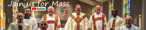 Join us for Mass - click here
