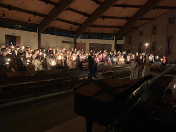 Photos from Easter Vigil