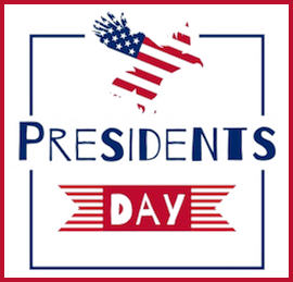 President's Day  <br />NO SCHOOL