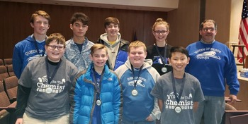 Congrates to Our Chemist Challenge Competitors!