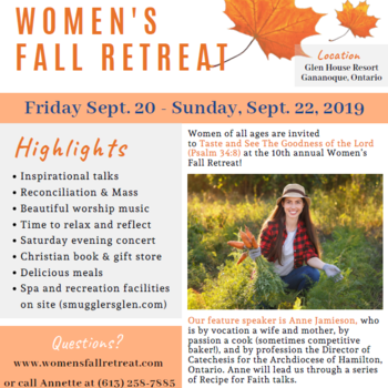 10th Annual Women's Fall Retreat