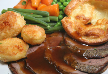 Harvest Supper (Roast Beef Dinner)