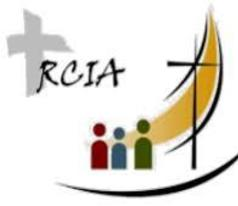 Rite of Christian  <br /> Initiation (RCIA)