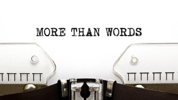 Homily Series: More Than Words