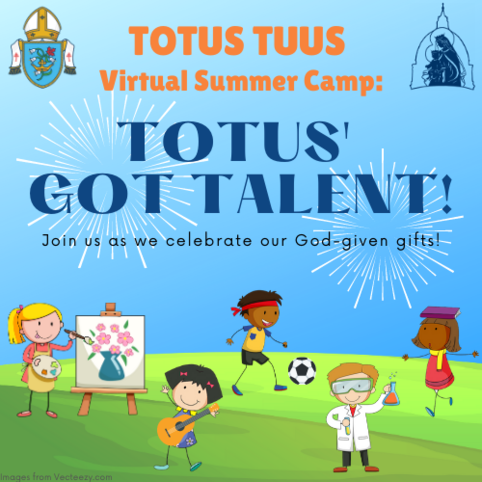 Totus' Got Talent! Join us as we celebrate our God given gifts!