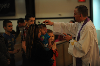 Ash Wednesday Mass St. Vincent de Paul
