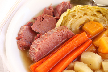CORN BEEF & CABBAGE SUPPER
