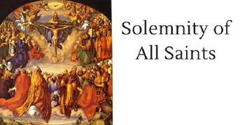 School Mass (Solemnity of All Saints Day) Day of obligation