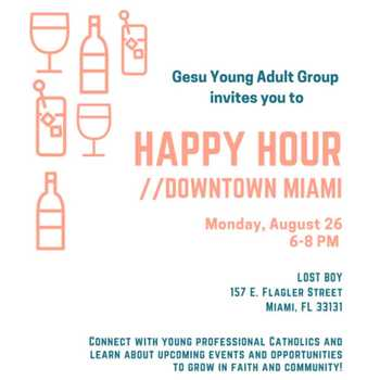 Young Adult Ministry Happy Hour / Social