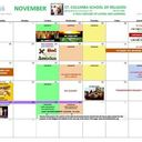 What's happening in NOVEMBER?