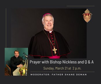 Bishop Live! Q & A session open to all
