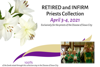 Retired and Infirm Priests Collections