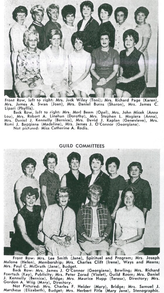 1968 Guild Circle Leaders and Committees