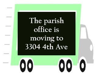 Parish office is moving!